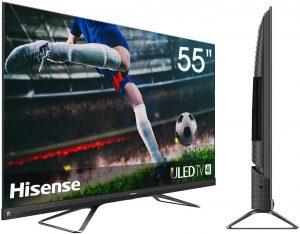 tv 4k ps5 xbox series 5. TV 4K 55U82QF de la marque Hisense